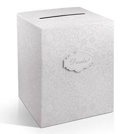 Geldbox Danke - Briefbox - Kartenbox zur Hochzeit für Geschenkkarten - 1