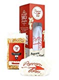Popcornloop Heimkino-Set bestehend aus 1x Popcornloop Rührstab, 1x Ersatzhaube, 1x Premium Popcorn Mais 500g - Popcornzubereiter Popcorn Maker Popcornmaschine Weltneuheit - Zu Hause Popcorn à la Kino zubereiten